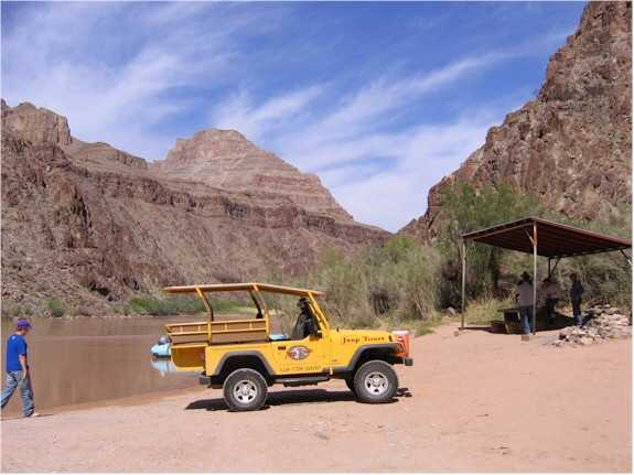Inner Grand Canyon Jeep Tour